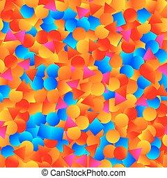 Bright shapes