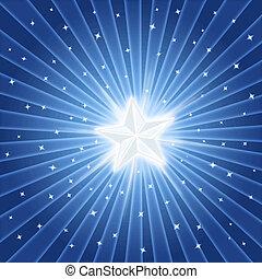 bright shiny star