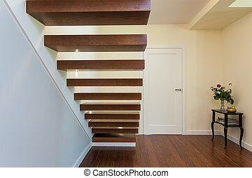 Bright space - classy stairway