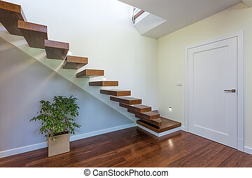 Bright space - staircase