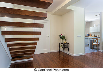 Bright space - stairs