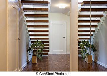 Bright space - stairway