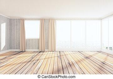Bright spacious interior - Bright spacious unfurnished...