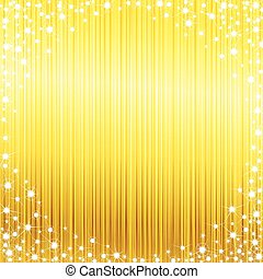 Bright sparkly frame - Glossy bright yellow background with...