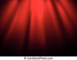 Bright stage with spot illumination. Presentation template