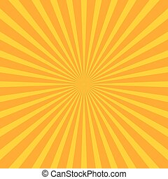 Bright starburst (sunburst) background with regular...