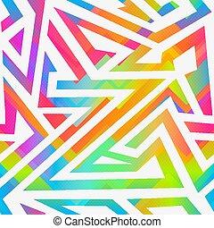 Bright stripes seamless pattern.