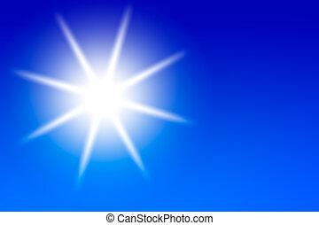 bright sun background