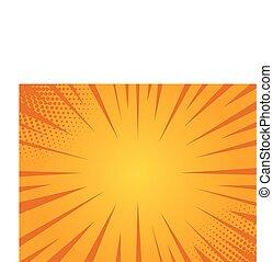 Bright sunbeams background