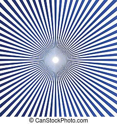 Drawing Art of Cartoon Bright Sunburst Vector Background