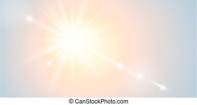 bright sunshine beautiful abstract sunny background