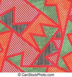bright tissue seamless pattern with grunge effect