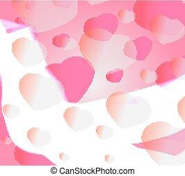 Bright Valentine's day background