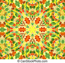Bright watercolor pattern