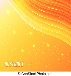 Bright Wavy Abstract Background