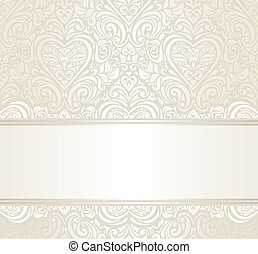 bright wedding ivitation design