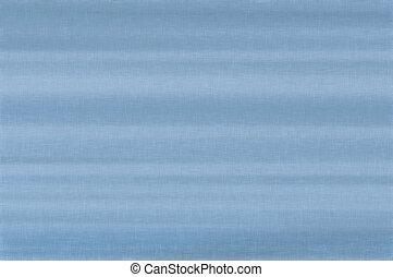 Bright white sky blue pale pastel fiber linen texture swatch background, detailed horizontal macro closeup, rustic vintage textured fabric burlap canvas pattern copy space