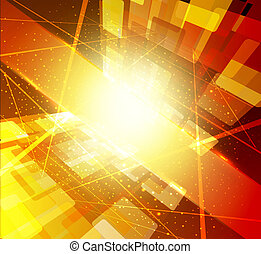 bright-yellow abstract background