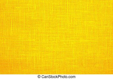 bright yellow background fabric texture