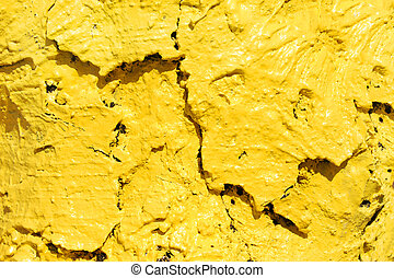 Bright Yellow Bark
