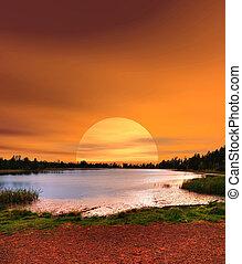 Sunrise Lake of the Woods Arizona