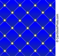 brightly blue edging of door, background for a design, vector illustration