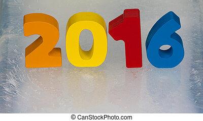 2016 calendar on the ice