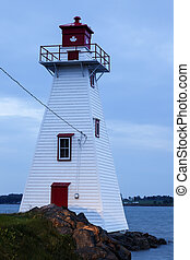 Brighton Beach Range Front Lighthouse - Charlottetown, Prince Edward Island, Canada