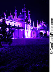 brighton royal pavilion at night - Brighton royal pavilion....