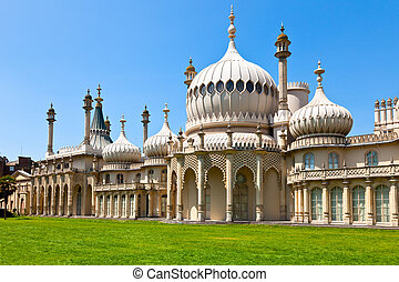 Brighton Royal Pavilion - Royal Pavilion in Brighton,...