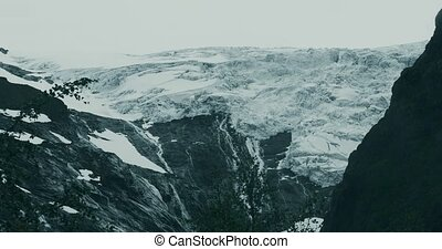 Brikdalsbreen Glacier - Graded and stabilized version. Watch...