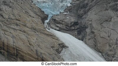 Brikdalsbreen Glacier, Norway - Native Material, straight...