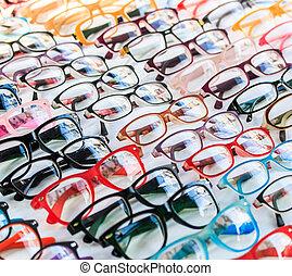 bril, achtergrond