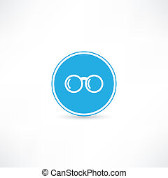 bril, pictogram