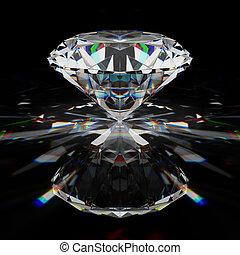 brilhante, diamante
