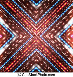 brilhante, fundo, arrows., abstratos