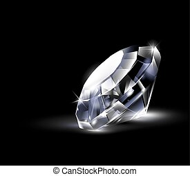 brillant, diamond., clair
