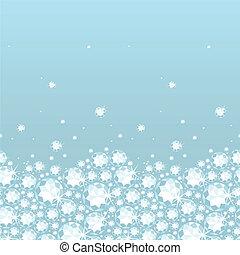 brillante, patrón, seamless, plano de fondo, diamantes, horizontal, frontera