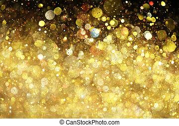brillare, oro