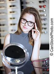brille, kaufmannsladen