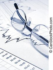 brille, tabelle, bestand