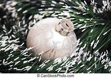 Brilliant  baubles like christmas decoration.