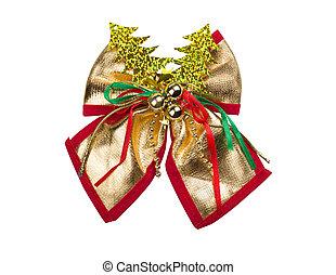 Brilliant gold bow