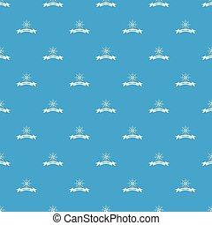 Brilliant pattern vector seamless blue