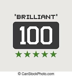brilliant score symbol