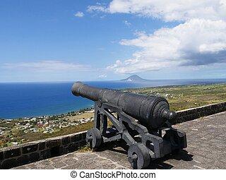Brimstone Hill cannon