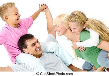 brincalhão, família