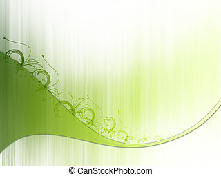 brindille, vert