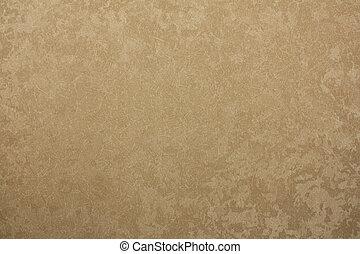 brindle, złoty, beżowe tło