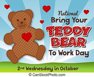 Bring Your Teddy Bear to Work and School Day